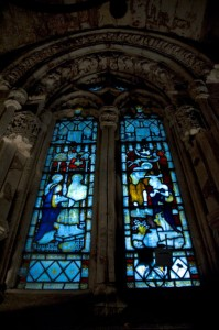 Stained Glass Window Rosslyn Chapel